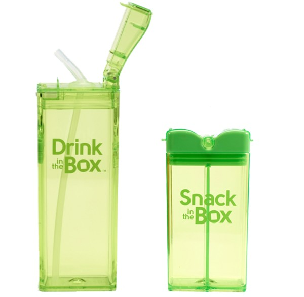 Robuste Kindertrinkflasche & Brotdose - Drink in the Box