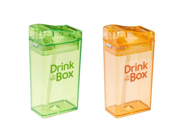 Robuste Trinkflasche 0% BPA - Drink in the Box