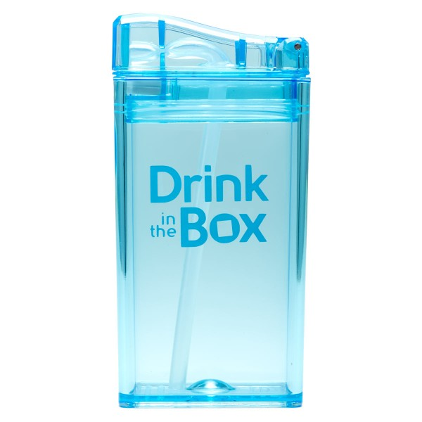 Drink in the Box Kindertrinkflasche 0.24L blau