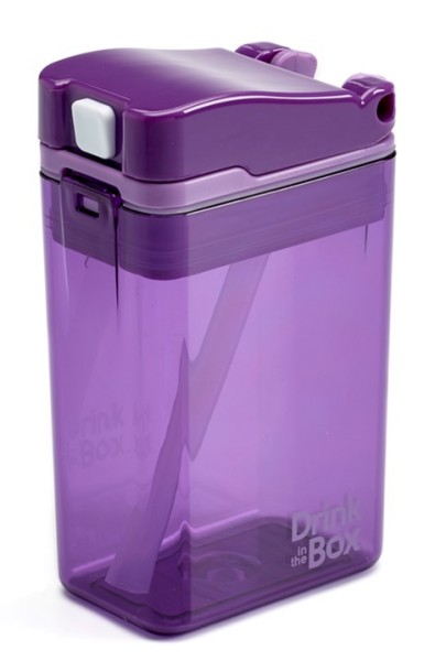 Drink in the Box Kindertrinkflasche 0.24L violett